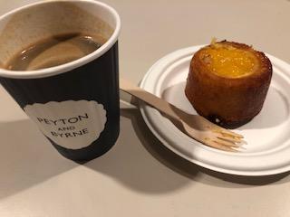 イギリス ロンドンのナショナルギャラリーでカフェ