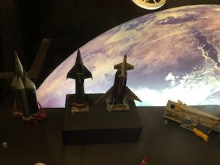 イギリス科学博物館のロケット展示