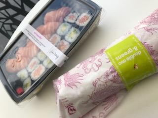 イギリスで食べたお寿司