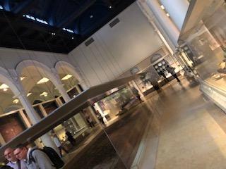イギリス ロンドンのヴィクトリア&アルバート博物館の館内