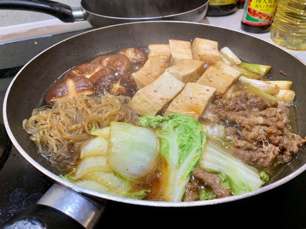 留学中に作った日本料理