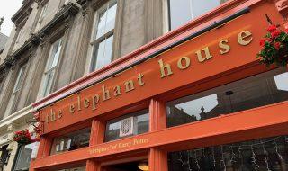 ハリーポッター第1作を書き上げた The Elephant House