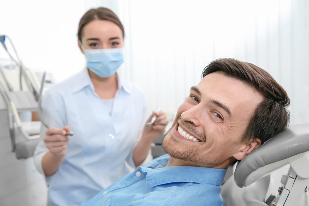 留学前には歯医者