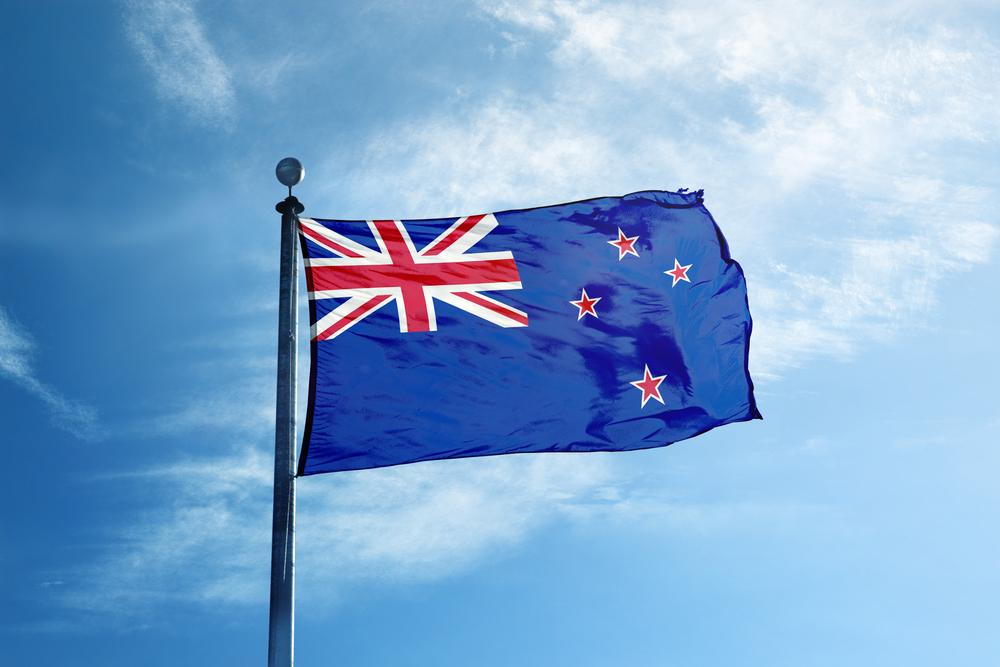 ニュージーランド国旗。