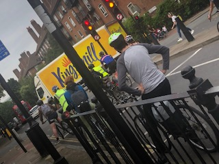 ロンドンで自転車に乗るときに注意