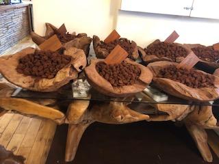 イギリスのブリックレーン市場で売っているチョコレート