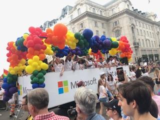 ロンドンで開催されたPride Parade LONDON