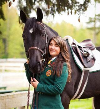 カナダの高校にある乗馬プログラムの費用