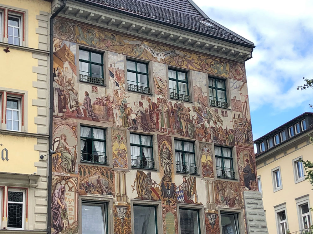 スイス留学中にドイツに旅行