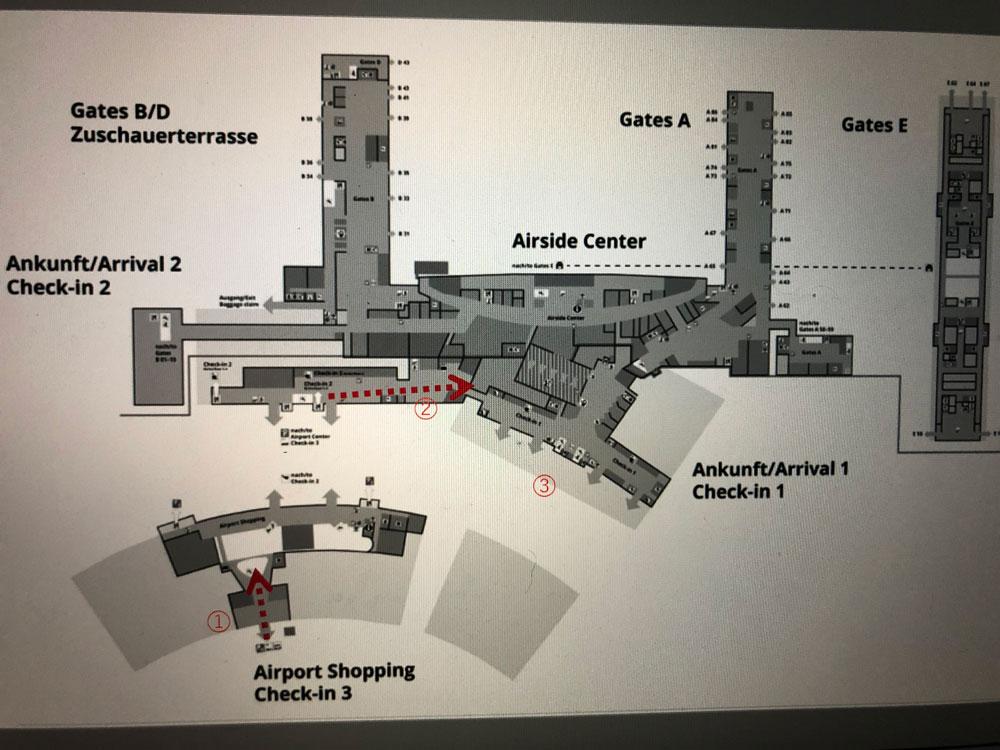 スイス チューリッヒ空港