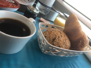 ユーロスターの朝食