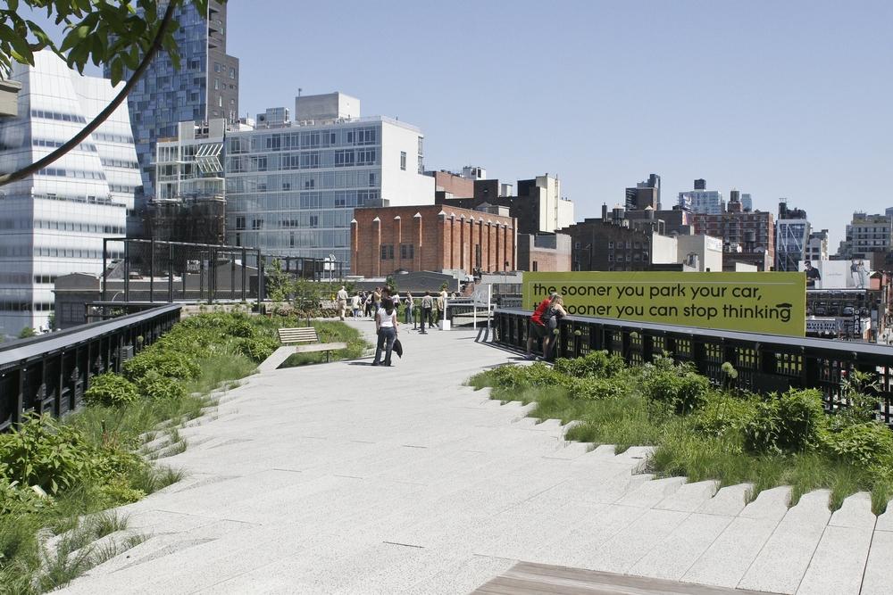 ニューヨークのThe High Line
