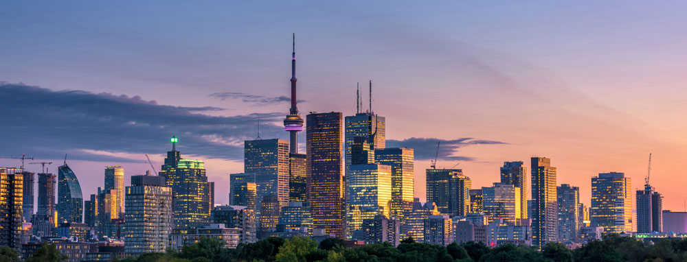 カナダ語学留学で人気の都市