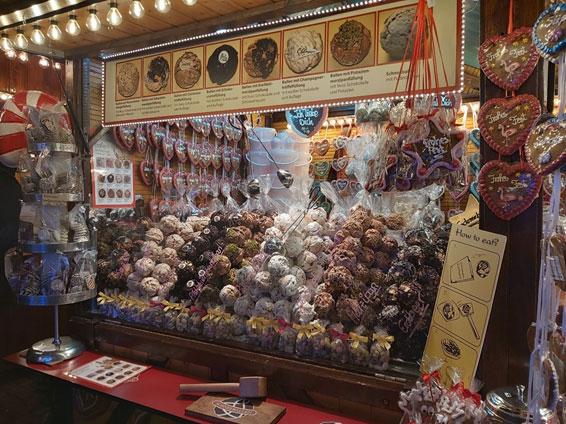 ドイツのお菓子シュネーバル