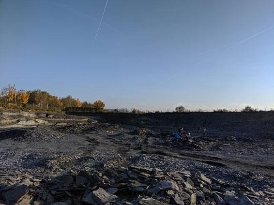 ドイツ留学中に、化石掘り体験!