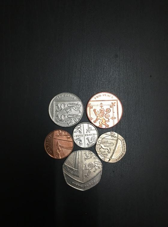 イギリスのレアコイン