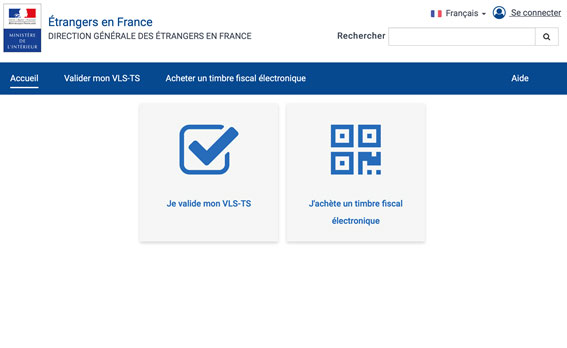フランス長期留学のビザ申請