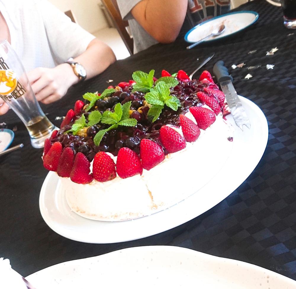 オーストラリアのクリスマスケーキ
