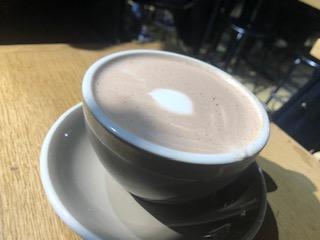 ロンドンでカフェ巡り