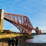 イギリス留学中にユネスコ世界遺産の一つ、フォース橋を見に行こう!