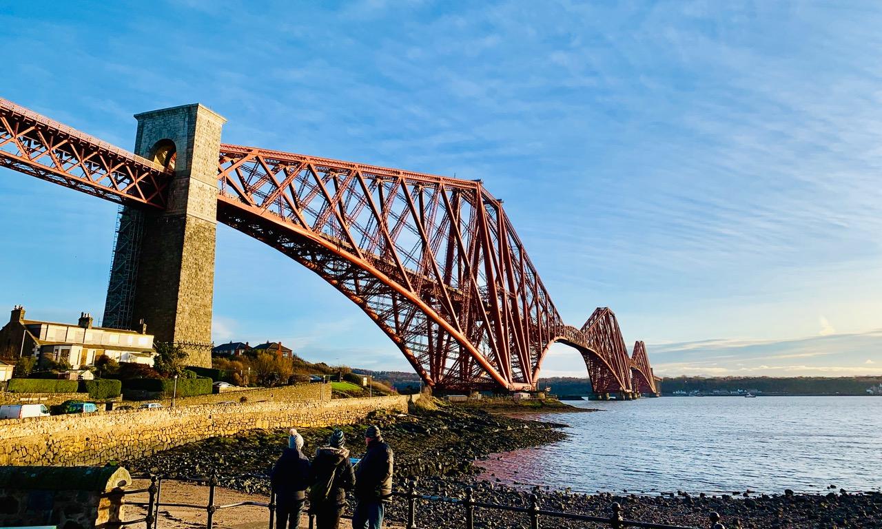 ユネスコ世界遺産の一つ、フォース橋