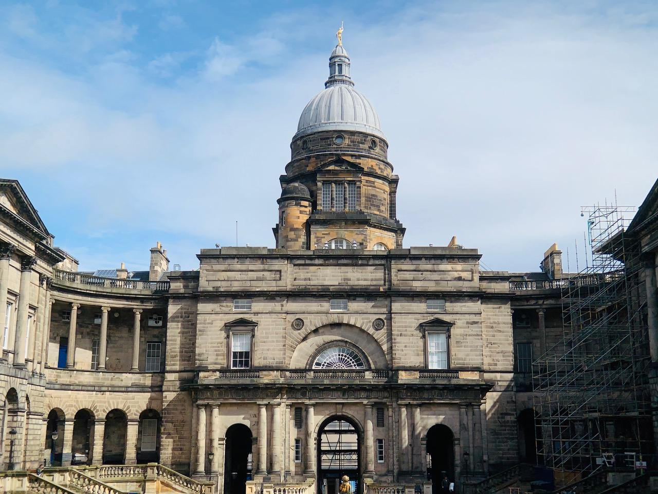 スコットランド国立博物館の隣にあるオールドカレッジ