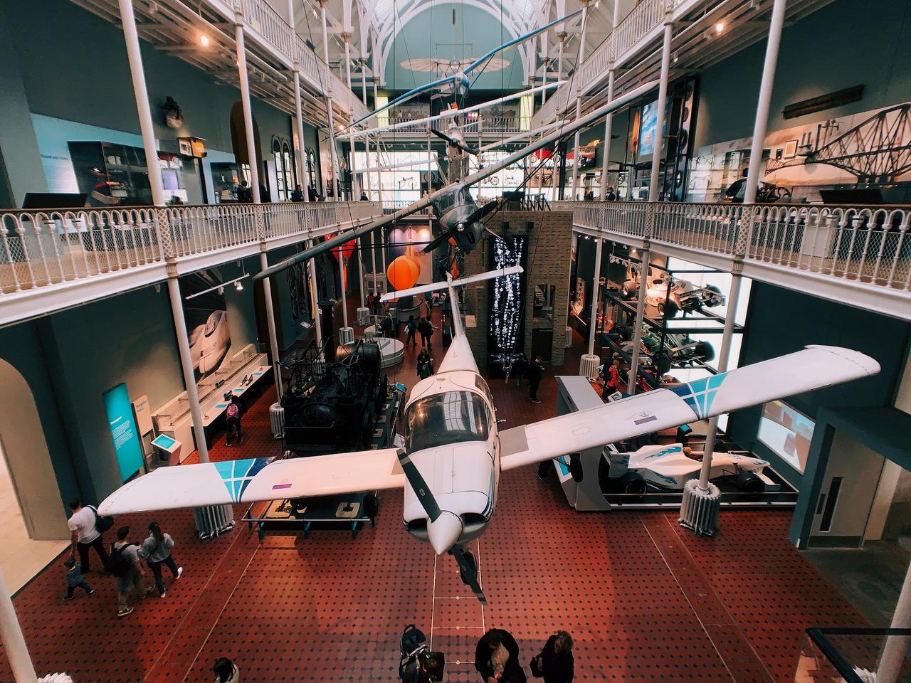 スコットランド国立博物館の館内