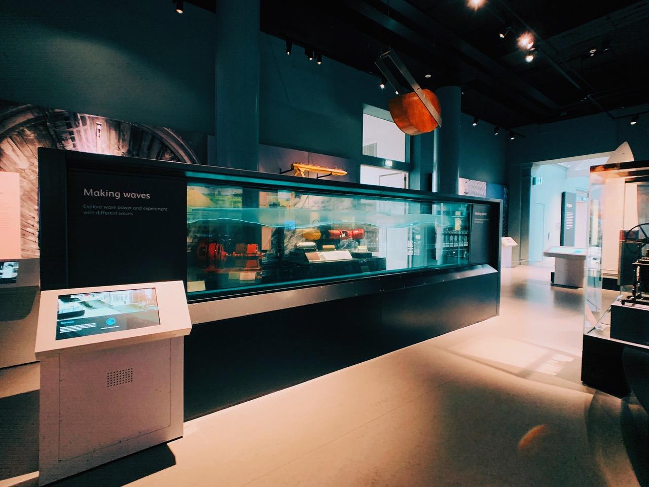 スコットランド国立博物館の展示