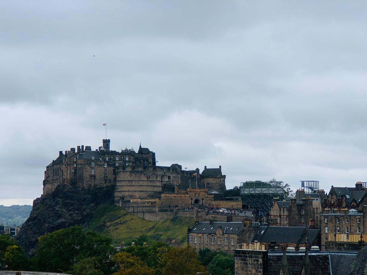スコットランド国立博物館の屋上からの眺め