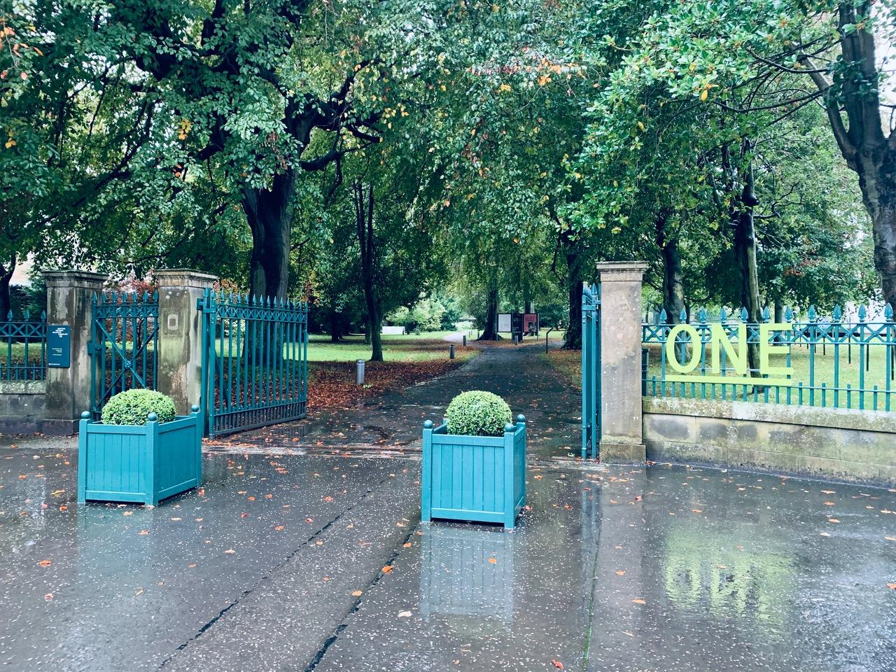 スコットランドの公園