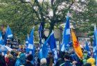 スコットランド独立運動マーチに参加してきました!