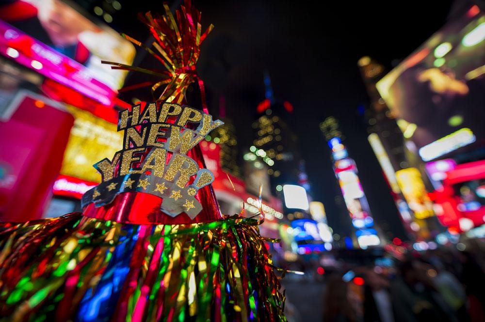 ニューヨークで、世界一のNYE(New Year's Eve)イベントを体験!