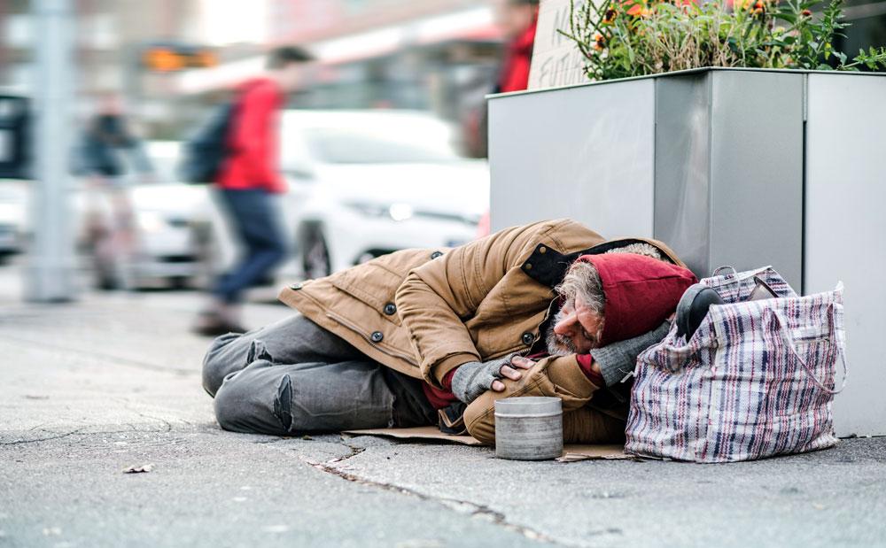 アメリカのホームレス