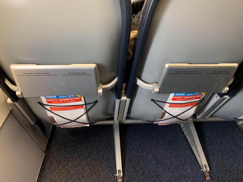 UCLLの座席