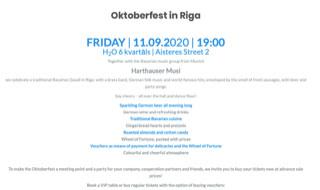 ドイツで有名なイベントOctoberfest