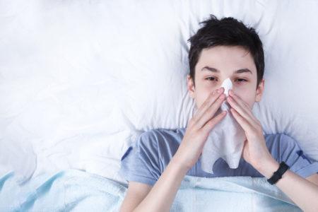 インフルエンザにかかった時、イギリスでの対応は?