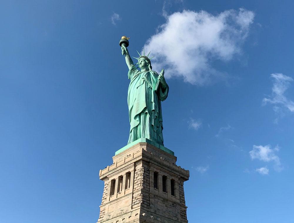 ニューヨークと言えば自由の女神
