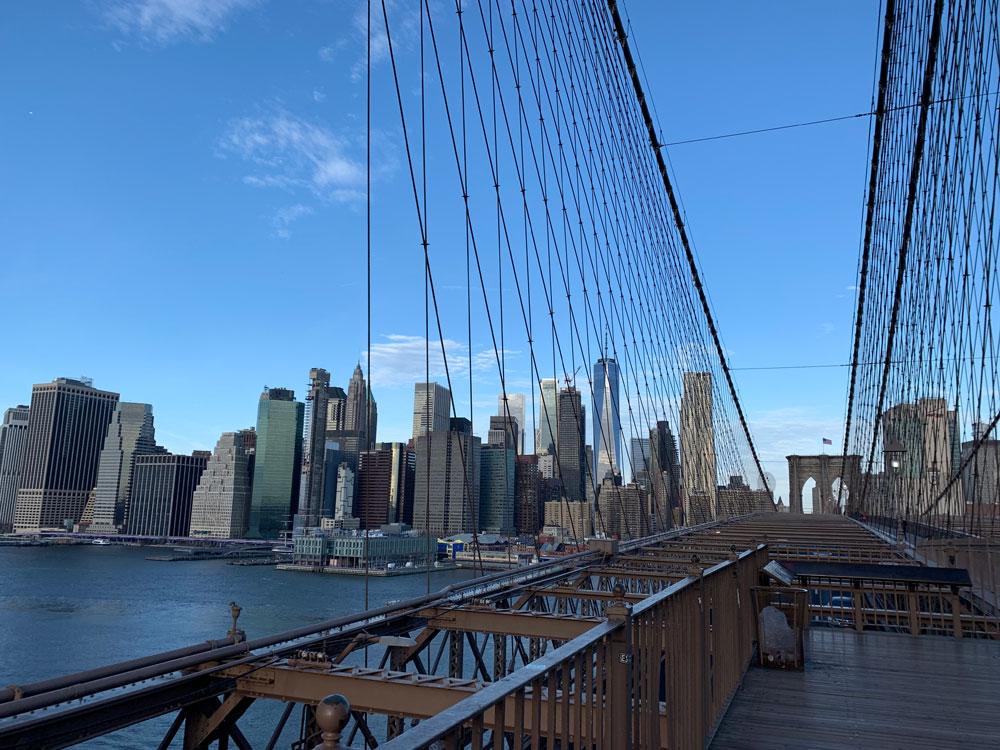 マンハッタンとブルックリンを結ぶ橋、ブルックリン・ブリッジ