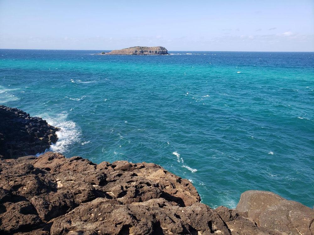 オーストラリアの美しい海