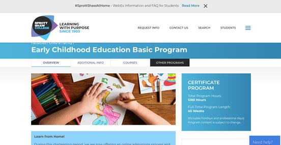カナダで幼児教育の資格を取得