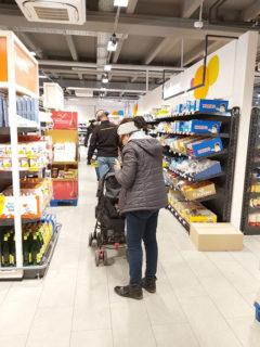 ドイツのスーパーと、日本のスーパーとの違いは?