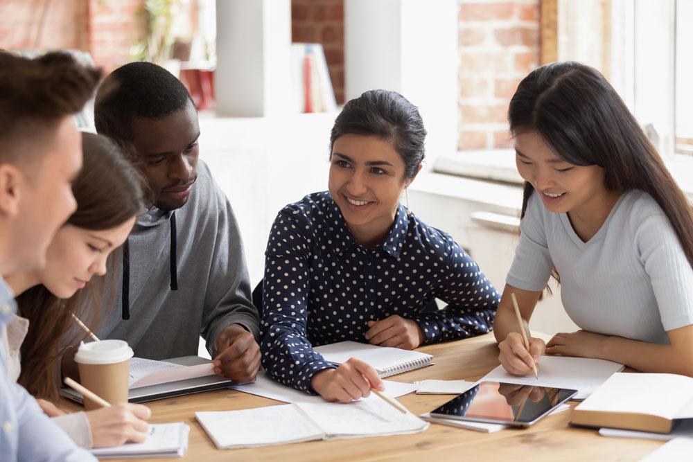 アットホームで留学生も多い大学のコミュニティ