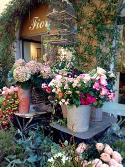 イタリアの花屋