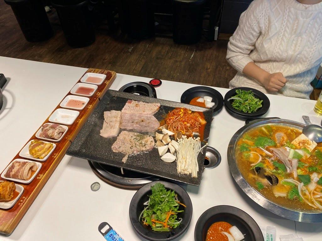韓国留学での食事