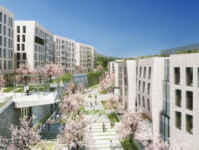 韓国の梨花女子大学の語学堂