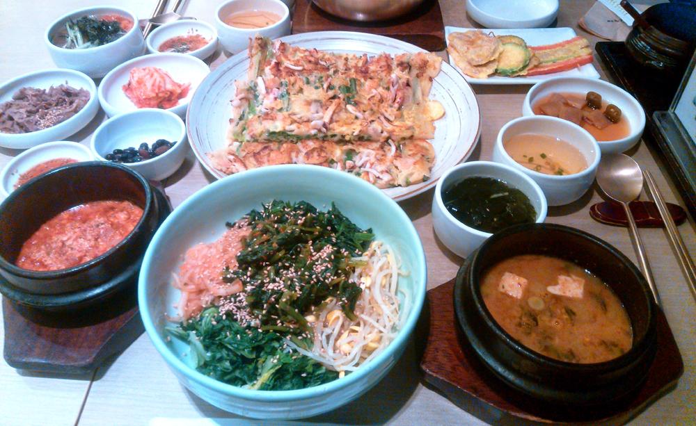 韓国留学中の食事