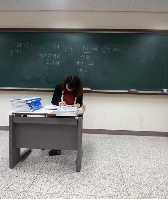韓国の語学堂の先生