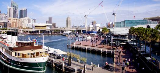 オーストラリア シドニーのダーリングハーバー